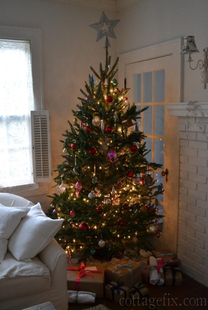 Cottage Fix blog - our tree