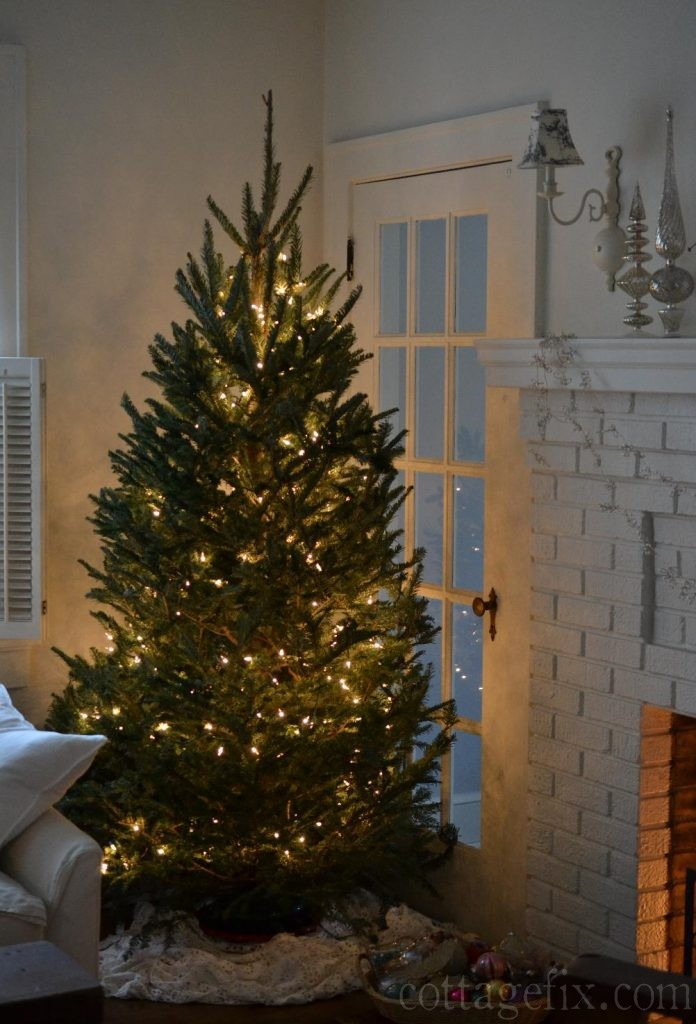 Cottage Fix blog - our Christmas tree