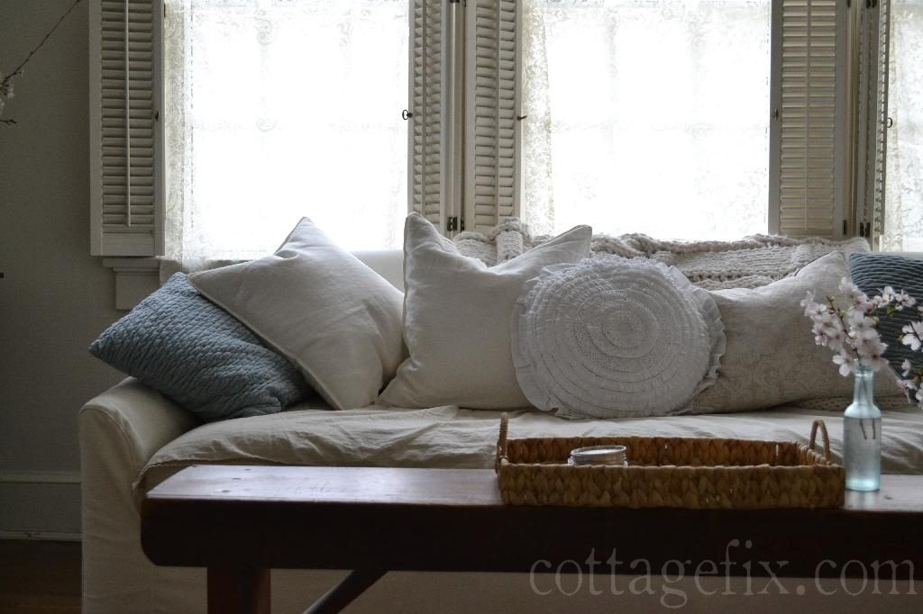Cottage Fix blog - whites and ruffles