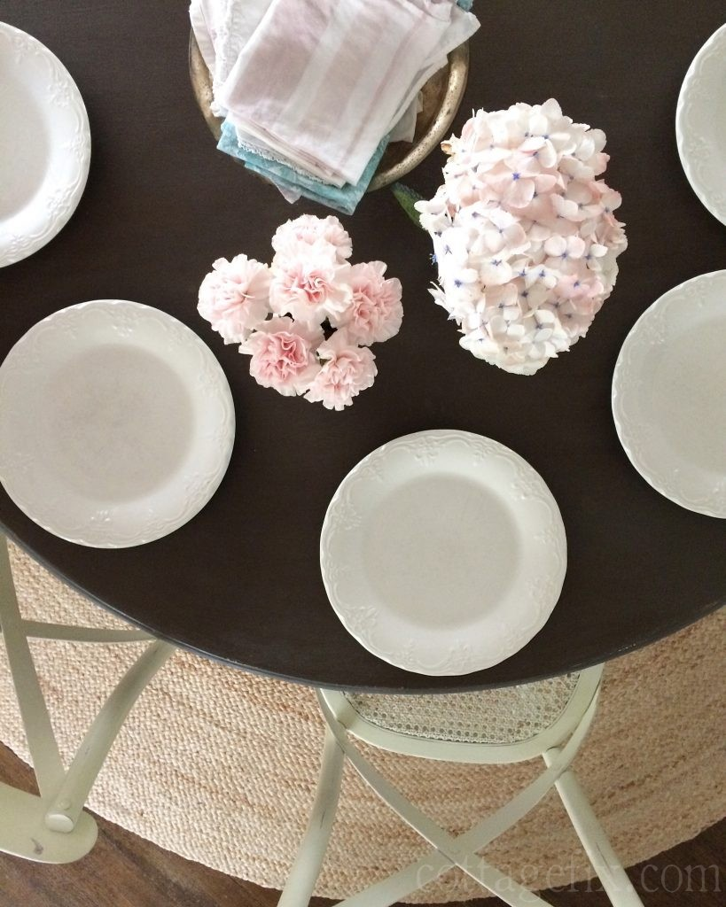 Cottage Fix blog - Lucy's 16th birthday table