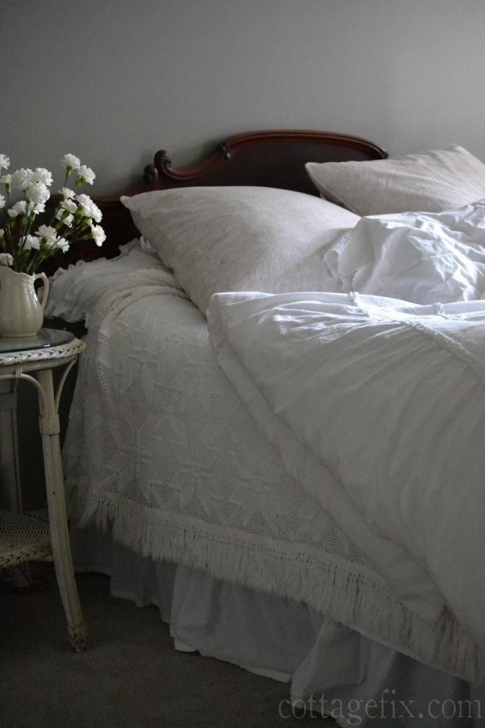 Cottage Fix blog - crochet bedspread