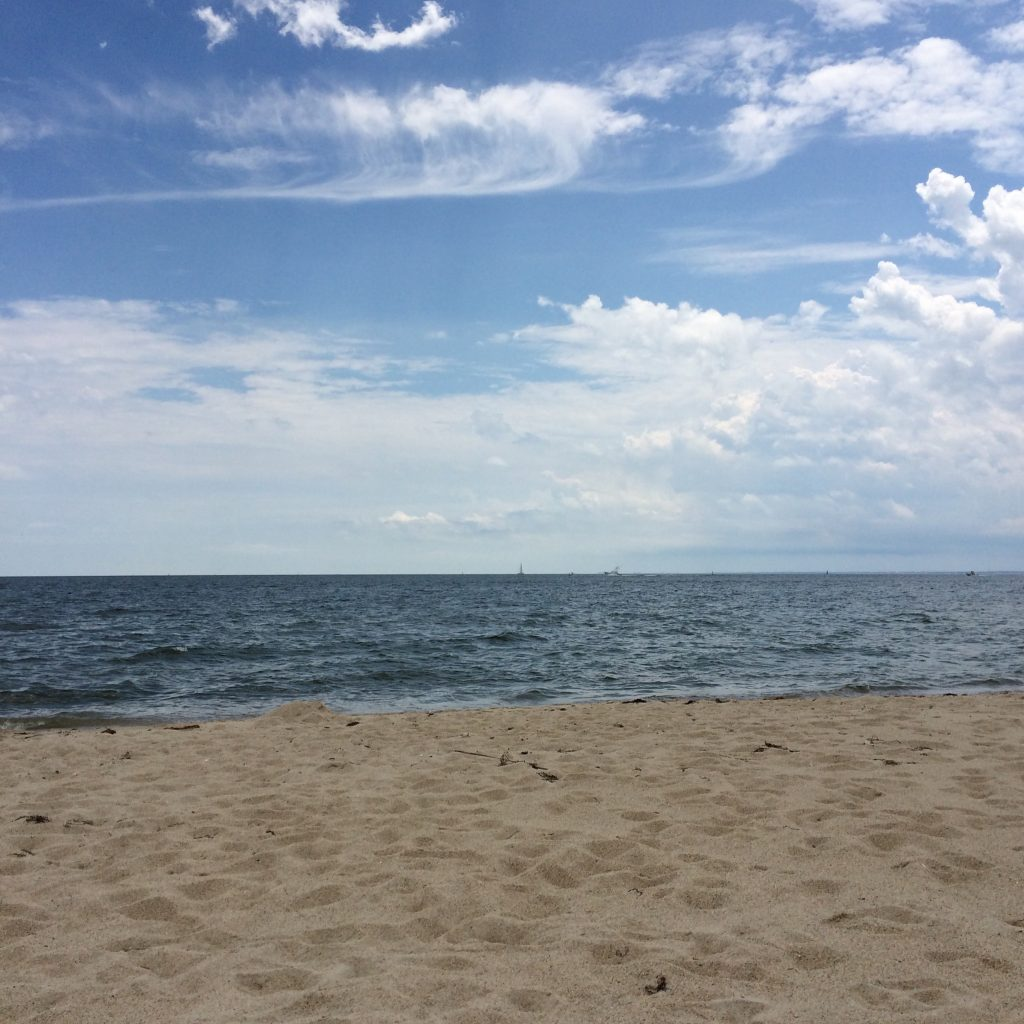 Cottage Fix blog - beach and clouds in Virginia