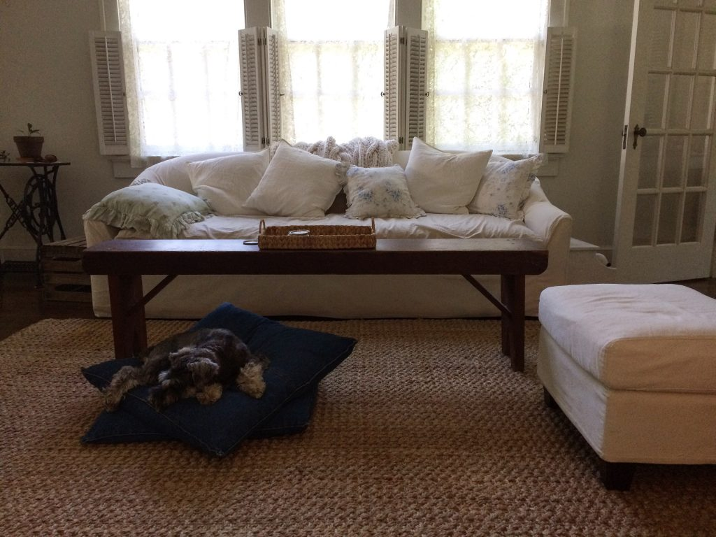 Cottage Fix blog - hot day outside, AC inside