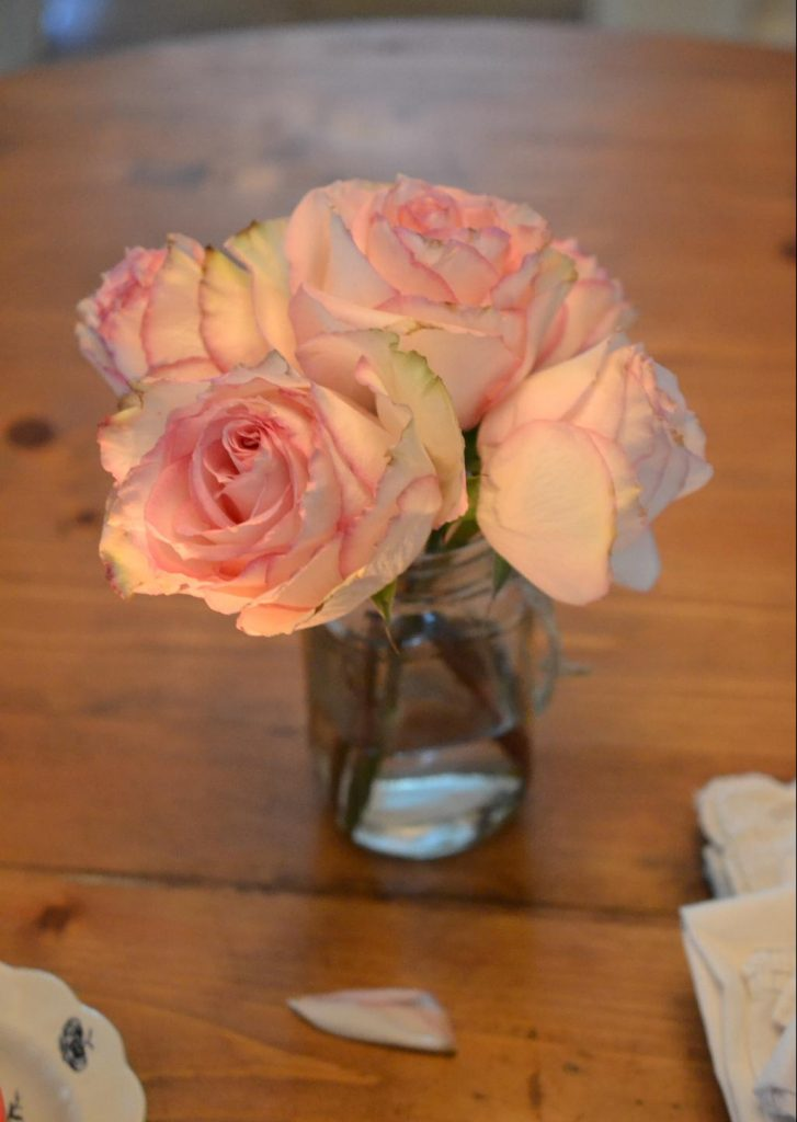 Cottage Fix blog - pink roses