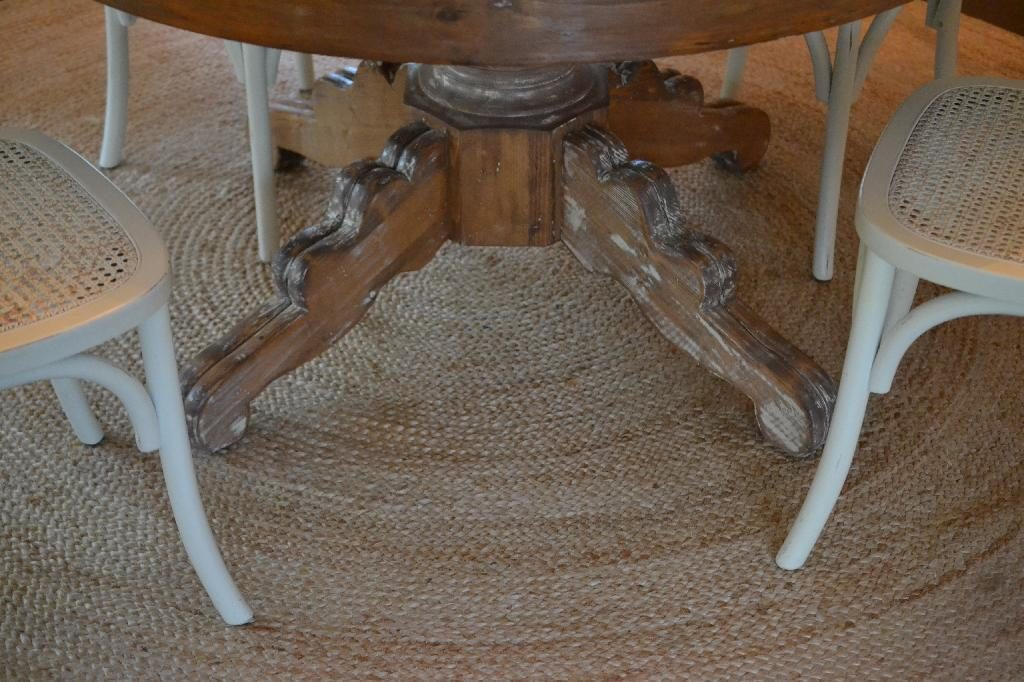 Cottage Fix blog - stripping and refinishing our old pine table