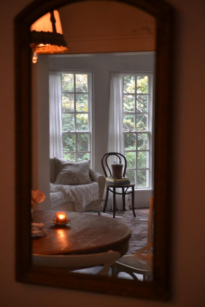 Cottage Fix blog - dining room reflection
