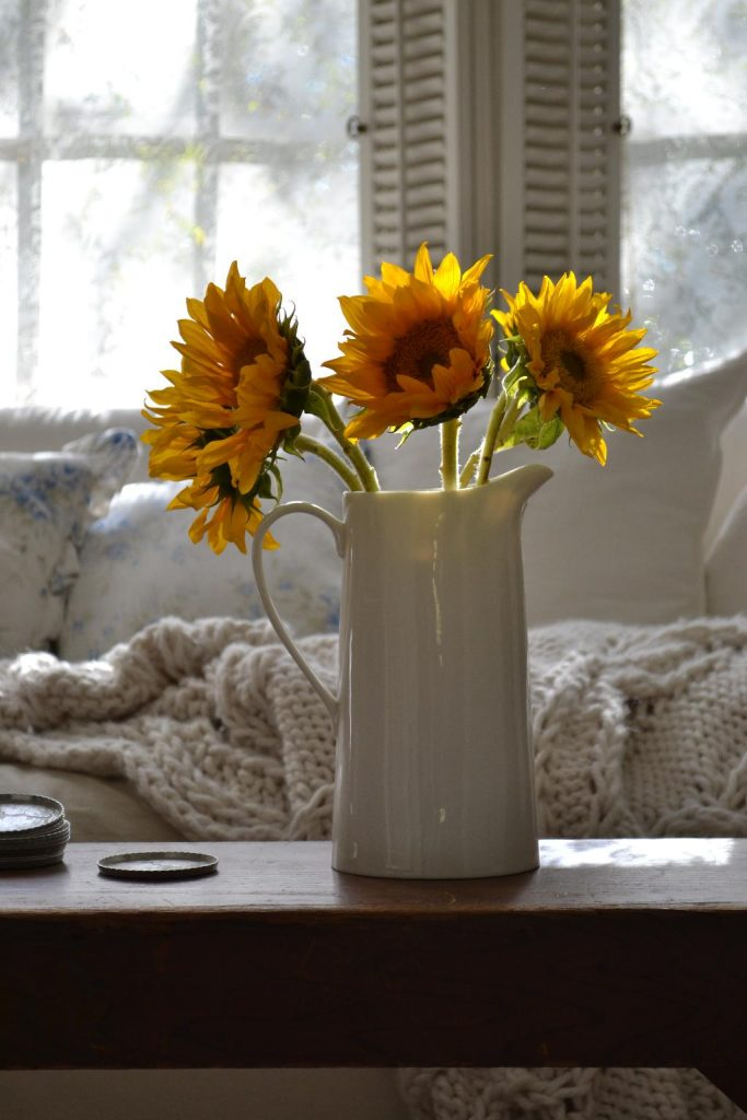 Cottage Fix blog - sunflowers