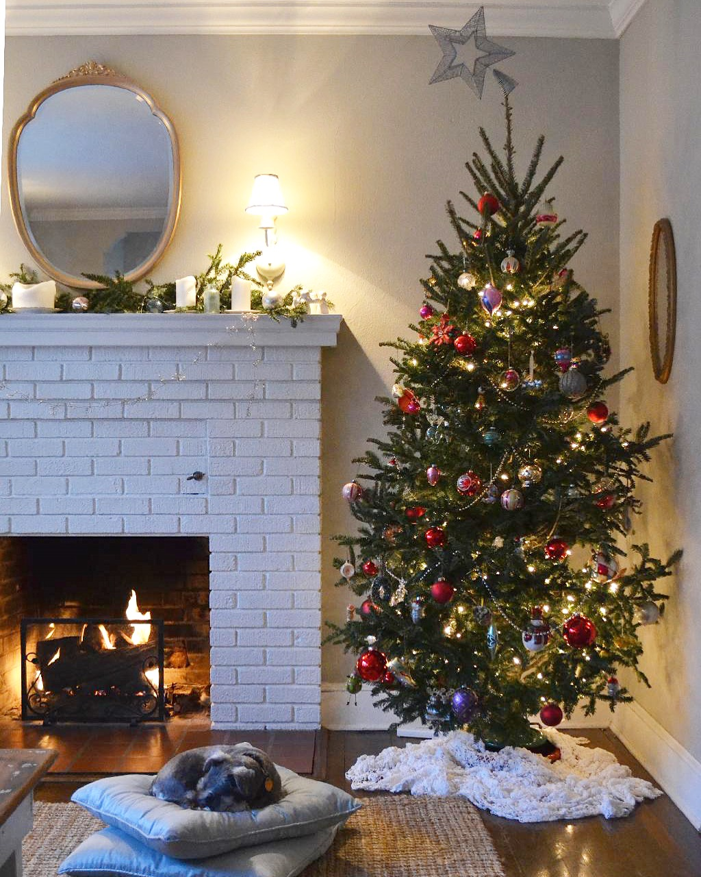 Cottage Fix blog - Christmas decorating 2018
